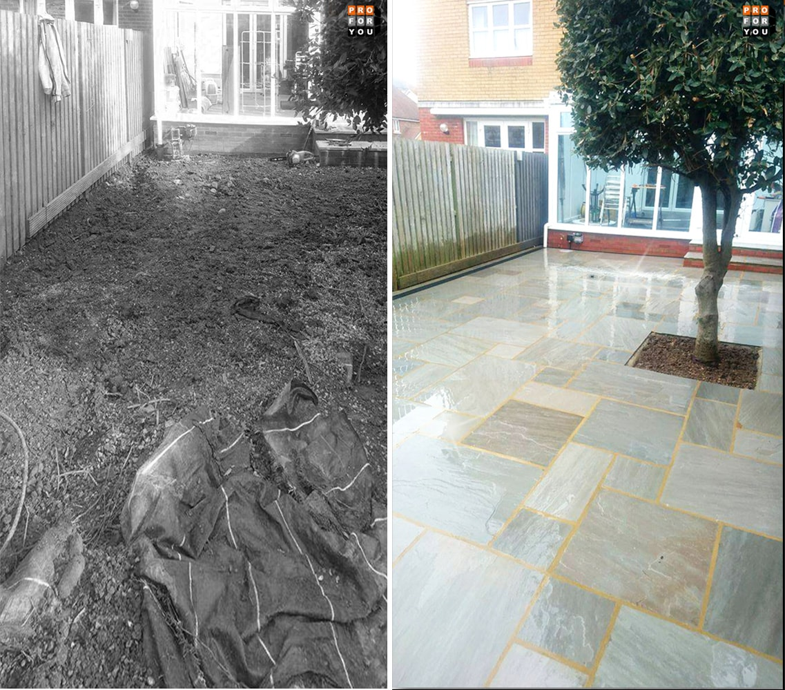 Patio in Eastbourne
